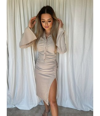 lola blouse beige
