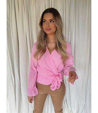 Imani tetra blouse roze