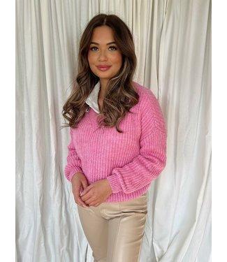 Ina knit roze