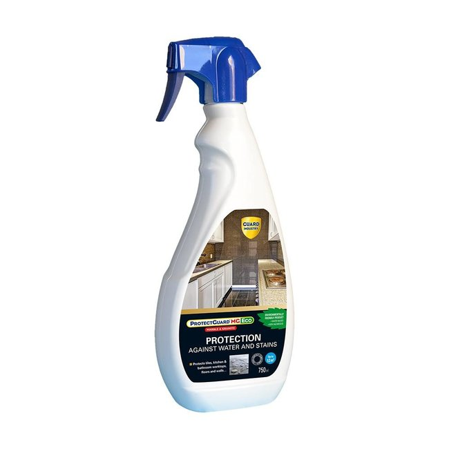 ProtectGuard MG Eco is the ideal protection product for marble, granite or very low porous materials.