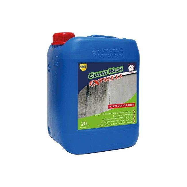 Geconcentreerd reinigingsmiddel voor groenaanslag