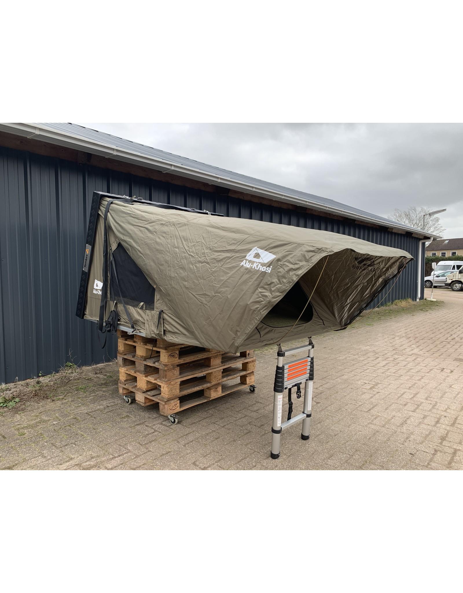 Femkes Alu Dachzelt Alu-Khosi mit 300x350cm Markise