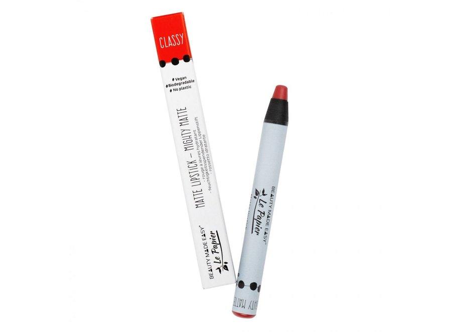 Mighty Matte Classy Lipstick