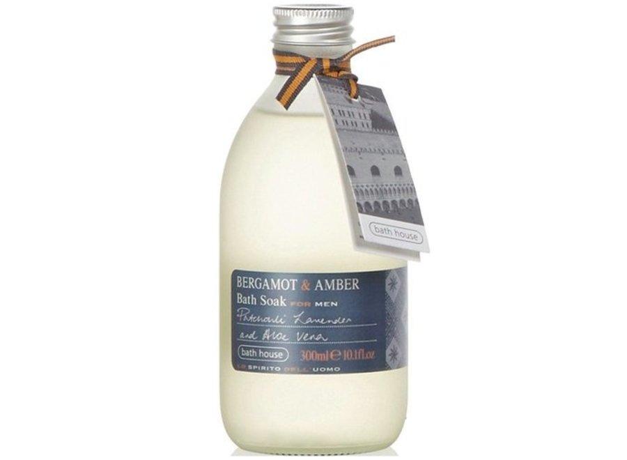 Badschuim Bergamot en Amber