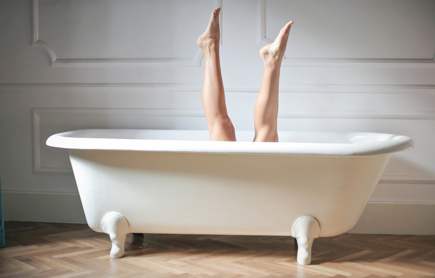 YOUR HOME SPA IN 5 SIMPLE STEPS