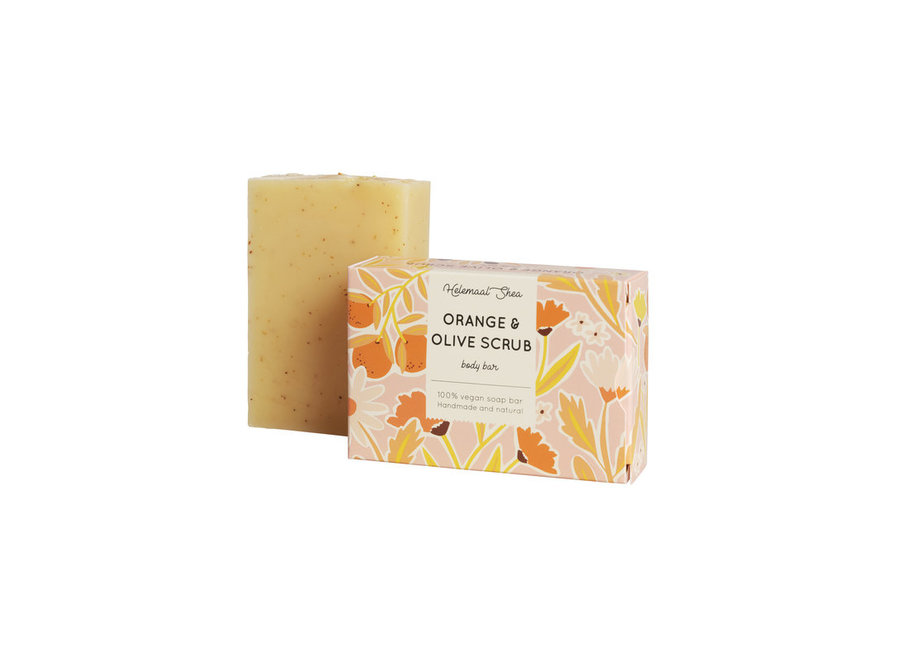 Orange Olive Scrub Soap