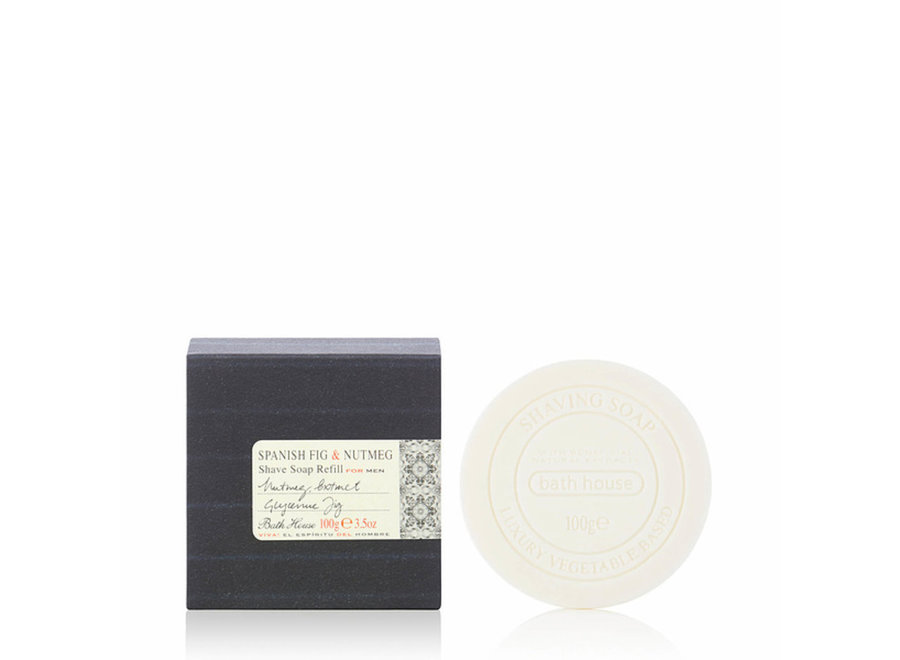 Spanish Fig & Nutmeg Shaving Soap