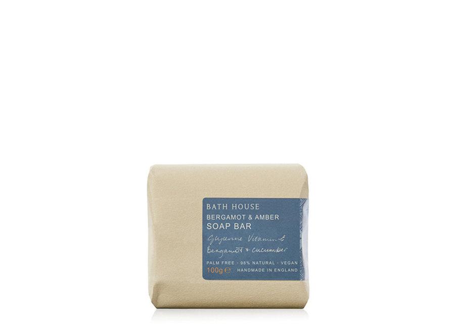 Body Soap Bergamot and Amber