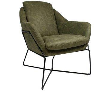 Lounge Sessel Valencia olivgrün