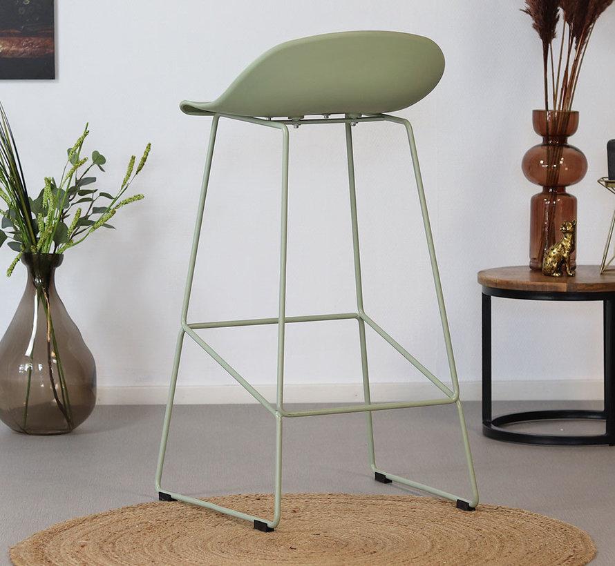Gastro Barhocker Erica skandinavisch Design mintgrün 76 cm