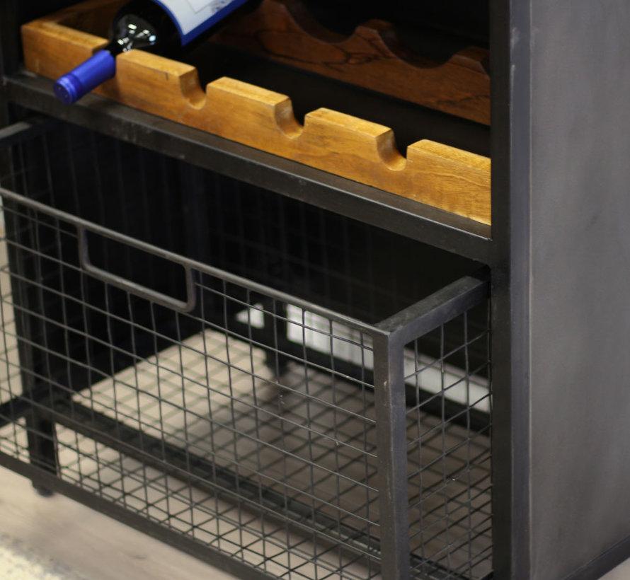 Weinschrank Lera 180x70cm