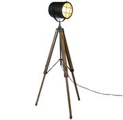 Bronx71 Stehlampe Berlin 1-flammig Holz/Metall