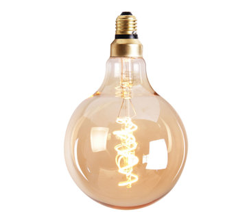 Bronx71 Leuchtmittel Round LED Ø 9,5 cm gold dimmbar - 5 Watt