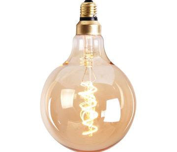 Bronx71 Leuchtmittel Round LED Ø 12,5 cm gold dimmbar - 5 Watt