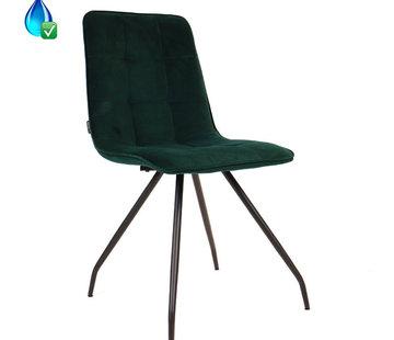 Bronx71 Gastro Stuhl Lisa Samt dunkelgrün