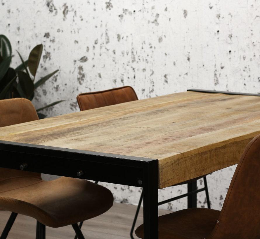 Esstisch Luqa Mangoholz 140x80x77cm