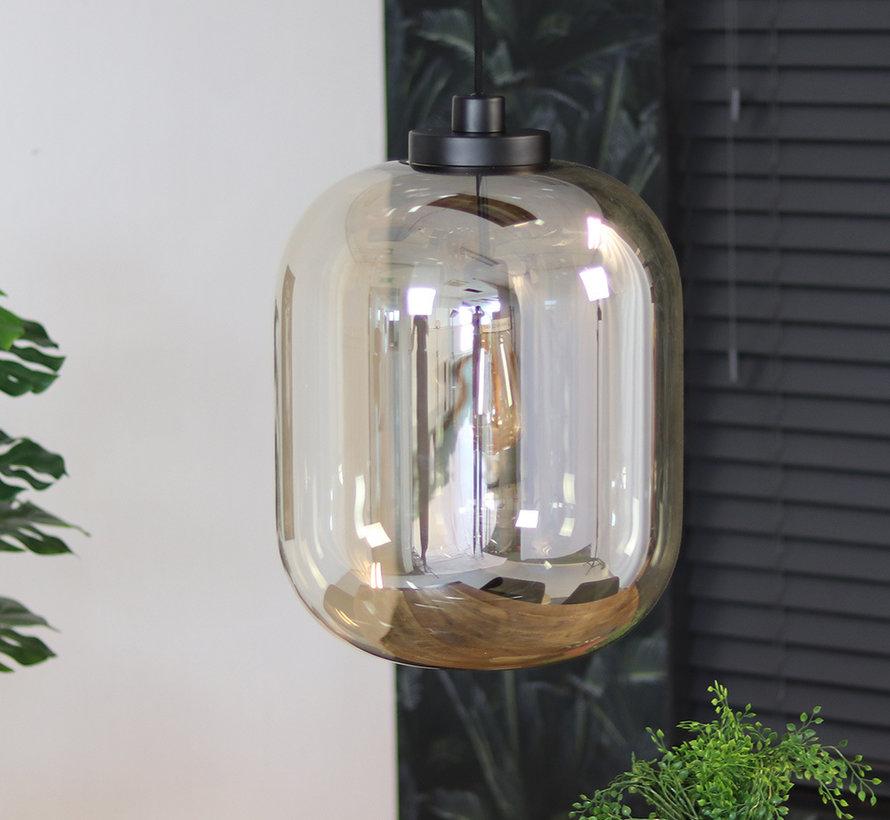 Pendelleuchte Amber 1-flammig Glas 45 cm