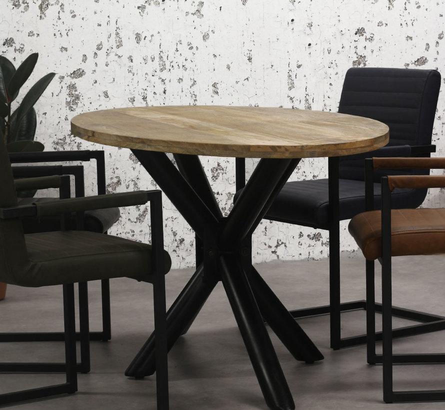 ovaler Esstisch Bing Mangoholz 240x110cm