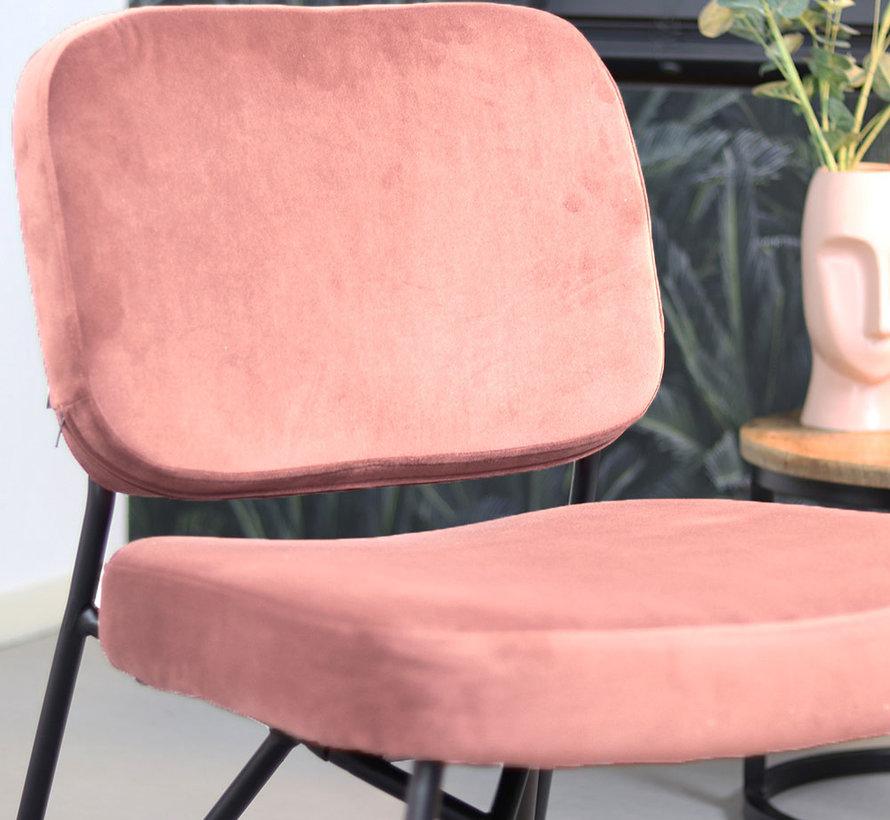 Sessel Samt Julia rosa