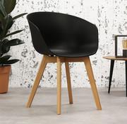 Skandinavischer Stuhl Tyler schwarz