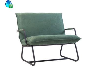 Bronx71 Lounge Sessel Ohio grün Polyester