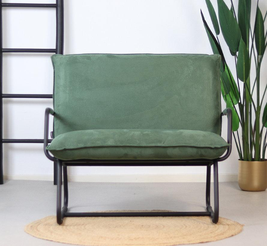 Lounge Sessel Ohio grün Polyester