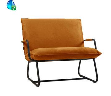 Bronx71 Lounge Sessel Ohio ockergelb Polyester