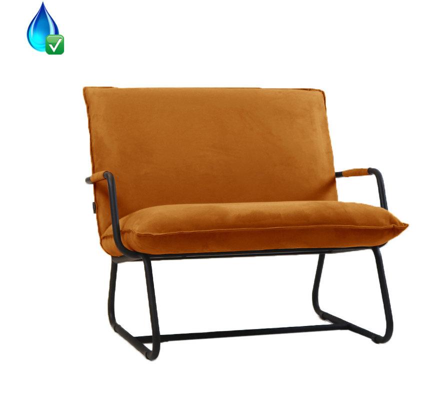 Lounge Sessel Ohio ockergelb Polyester