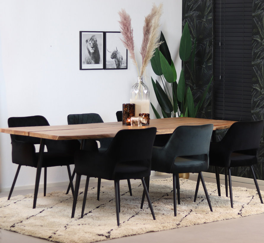 Esstisch Richy Akazienholz 230 x 96 cm