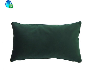 Bronx71 Samt Kissen Anna grün 25x45 cm