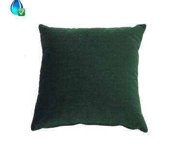Bronx71 Samt Kissen Anna grün 45x45 cm