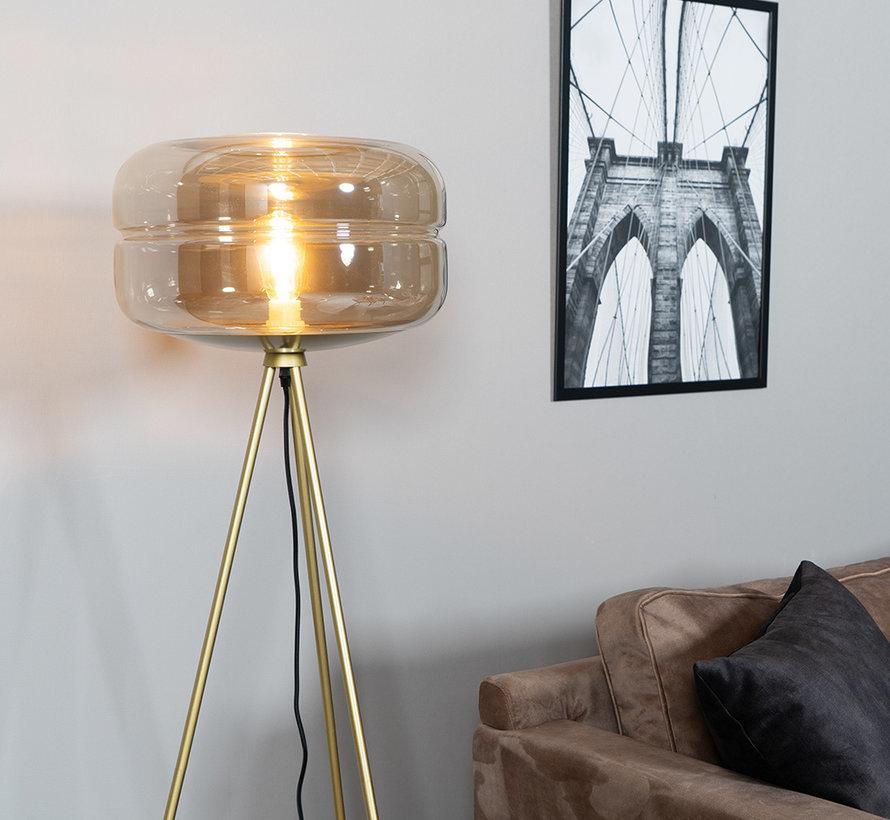 Stehlampe Lone 1-flammig Amber