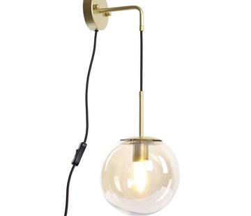 Bronx71 Wandlampe Else 1-flammig Amber