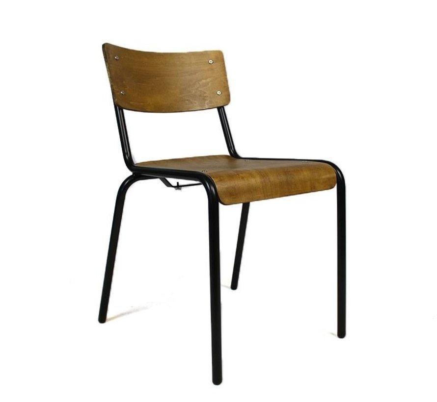 Stapelbarer Stuhl Retro