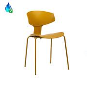 Gastrostuhl Mara skandinavisches Design Gelb