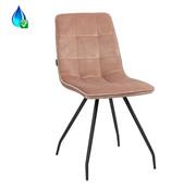 Bronx71 Gastro Stuhl Lisa Samt rosa