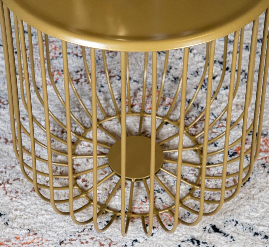 Beistelltisch Jack Metall Gold
