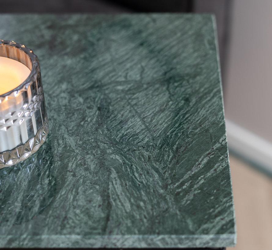 Beistelltisch Zoey Marmor grün 47 cm