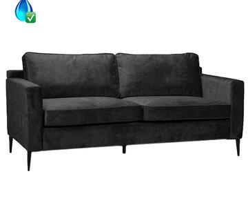 Bronx71 Samt Sofa 3-Sitzer Florida anthrazit