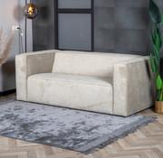 Bronx71 Design Sofa Memphis 2,5-Sitzer Stoff taupe