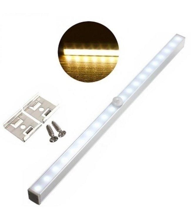 LED Kastverlichting - Met Sensor - Warm Wit