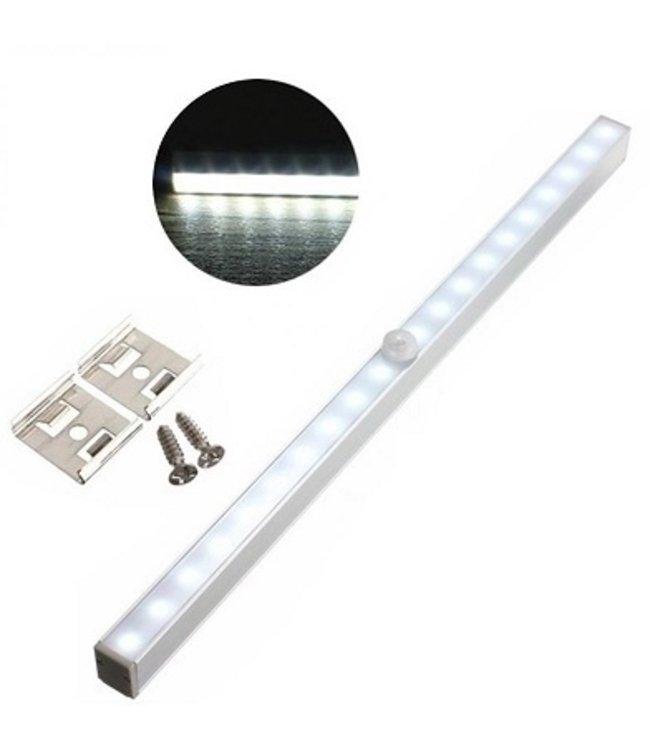 LED Kastverlichting - Met Sensor - Koel Wit