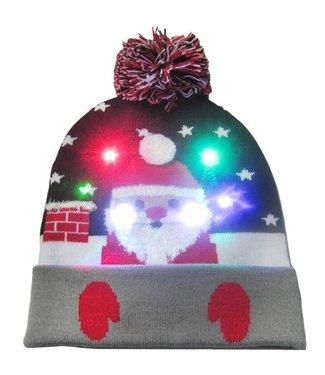 Lichtgevende Kerstmuts - 01
