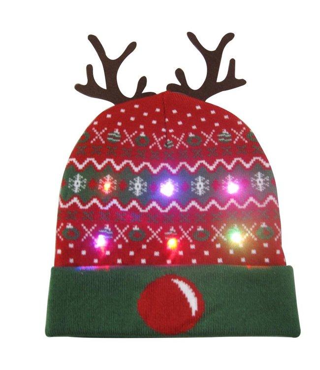 Lichtgevende Kerstmuts - 04