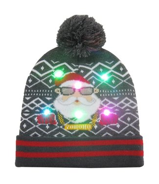 Lichtgevende Kerstmuts - 05