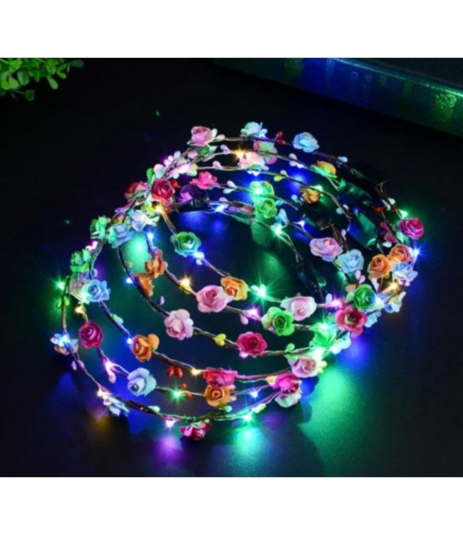LED Tiara  / Haarband RGB
