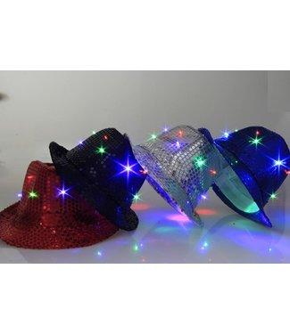 Lichtgevende Hoed Met RGB Verlichting