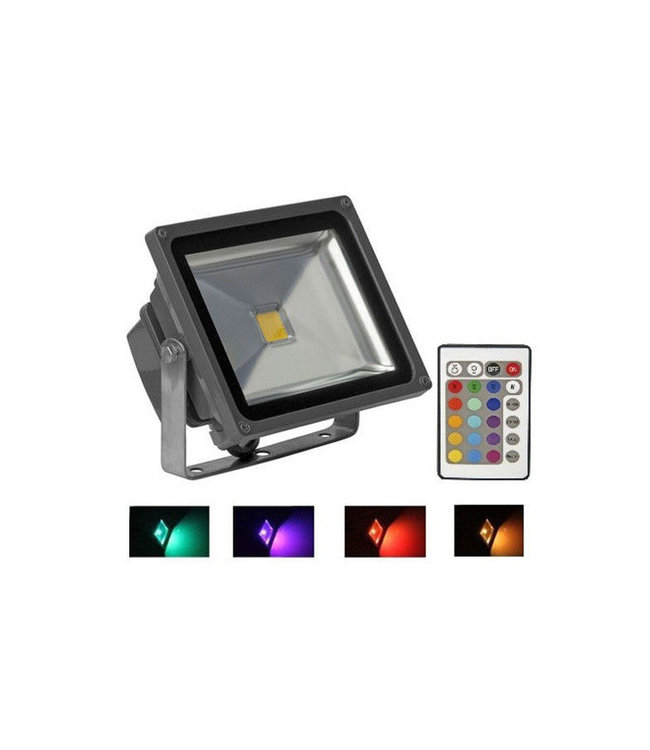 LED Bouwlamp RGB - 20 Watt