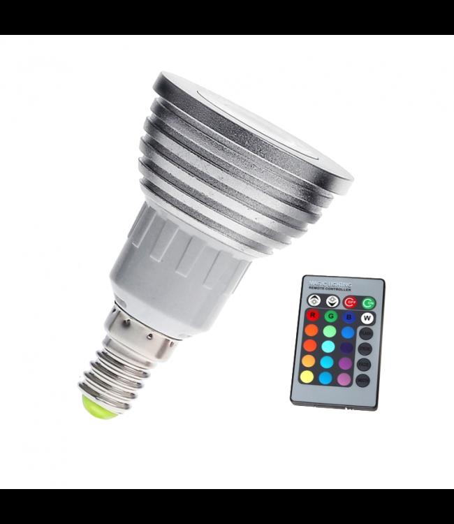 LED Spot RGB - 3 Watt - E14