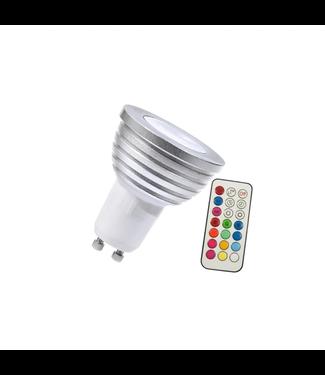 LED Spot RGB - 5 Watt - GU10